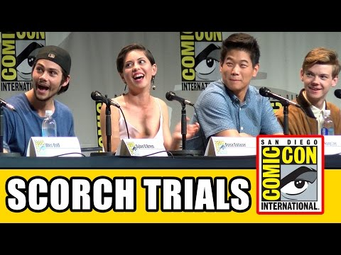 Maze Runner 2: The Scorch Trials Comic Con Panel - Dylan O'Brien, Thomas Brodie-Sangster