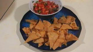 Homemade Tortilla Chips! How to make Tortilla Chips