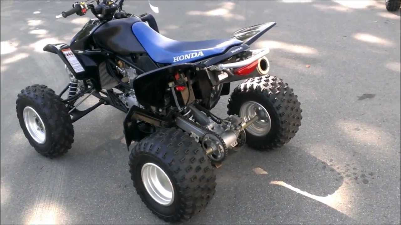 2008 used honda trx450erf atv for sale youtube. Black Bedroom Furniture Sets. Home Design Ideas