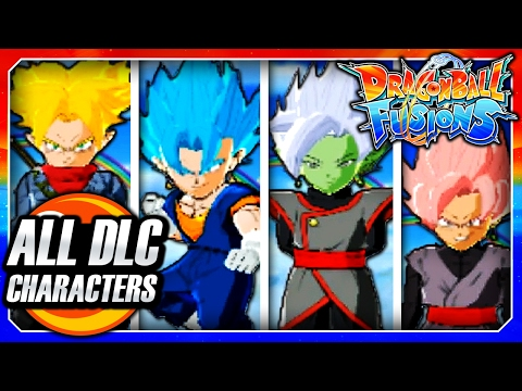 Dragon Ball Fusions 3DS English: FREE DLC Update Version 2.2.0 - All DLC Character Gameplay