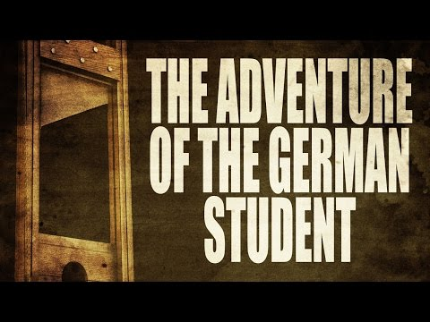 THE ADVENTURE OF THE GERMAN STUDENT Washington Irving | Halloween Scary Stories | Classic Horror