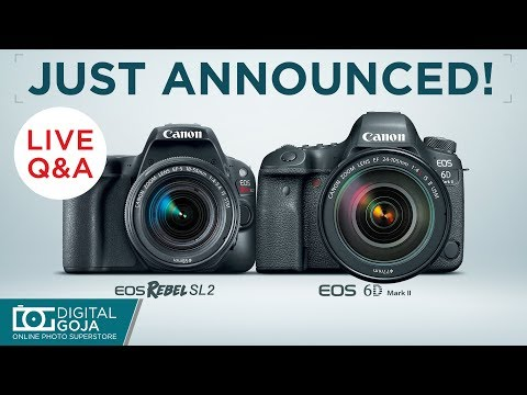 LIVE: Canon New Cameras & Sigma's Newest Lenses Q&A