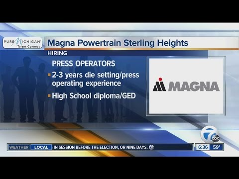 Workers Wanted: Magna Powertrain Sterling Heights