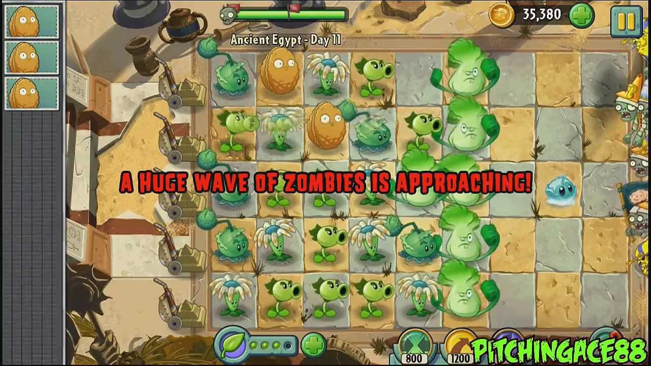 plants vs zombies level