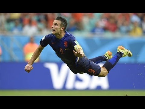 Gol de Van Persie a España (Brasil 2014)