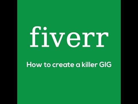 Fiverr GIG setup for Graphic Design  (Bangla)