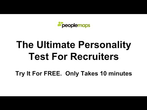the ultimate personality test for recruiters squeeze page