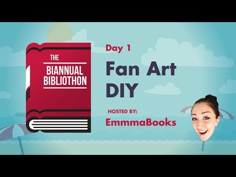 Day 1 - emmmabooks ll Fan Art DIY