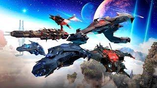 Корабли 16-17 рангов Star Conflict Journey смотреть онлайн в хорошем качестве бесплатно - VIDEOOO