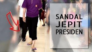 Jokowi Santai di Kuta Bali Bersandal Jepit. Ramai Sekali tapi Aman!