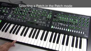 "SYSTEM-8 Quick Start 05 ""To Select and Save a Patch"""