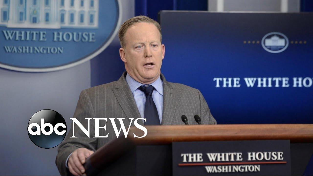 sean spicer resigns as white house press secretary - youtube