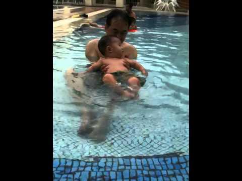 nathaniel swimming