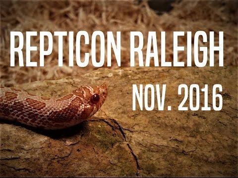 Repticon Raleigh Nov. 2016