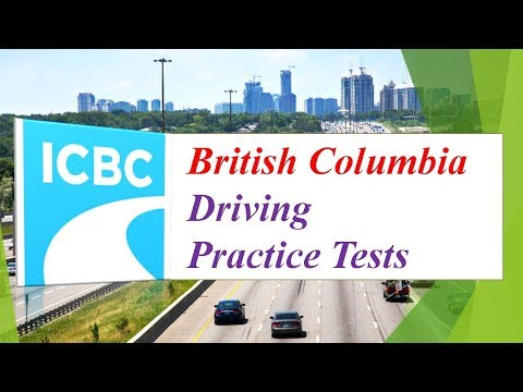 British Columbia Driving Practice Tests (110 Questions and Answers)
