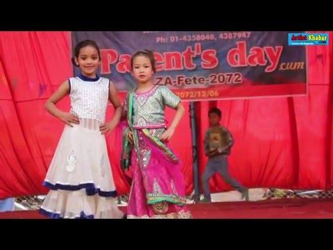 Cute Child fashion show in school // Samakhusi kathmandu