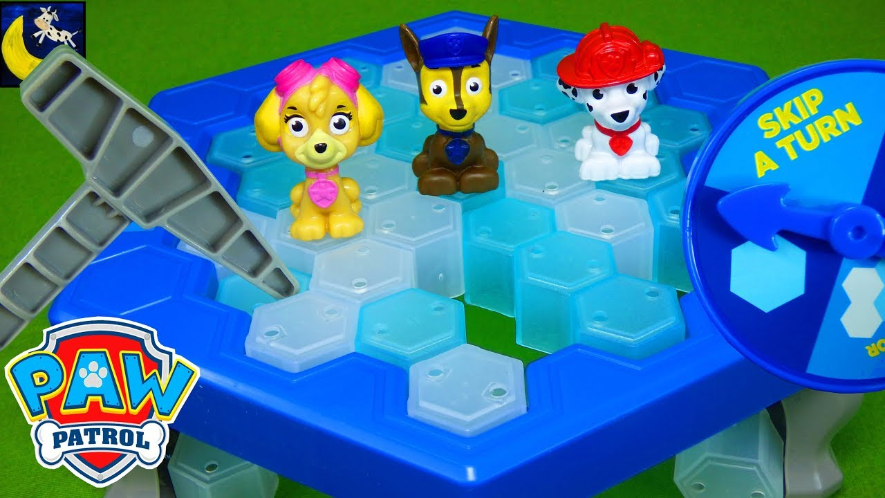 Paw Patrol Games Don T Drop Chase Don T Break The Ice Mini