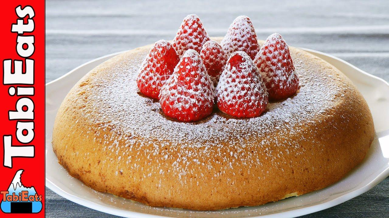 NO OVEN Sponge Cake (Easy Frying Pan Recipe)