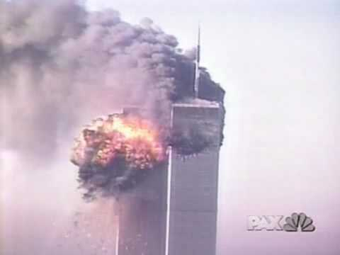 WTC 2nd attack - Leaning Towers (NBC//PAX)