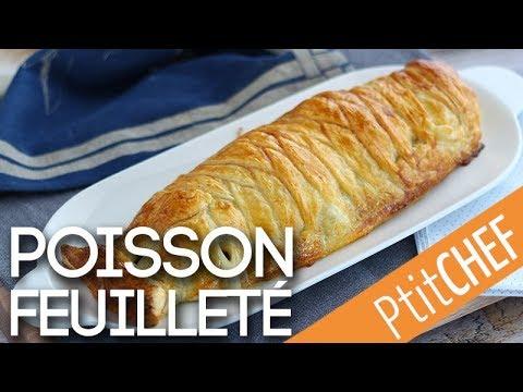 recette-de-cabillaud-feuilleté-aux-épinards-et-mozzarella---ptitchef.com
