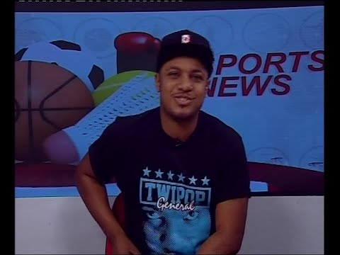 Dr. Cryme our guest sports presenter on NewDay - 21/9/2016