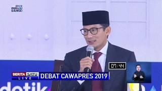 Panas! Debat Ma'ruf Amin dan Sandiaga Soal Tenaga Kerja Asing