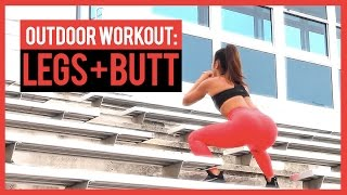 Outdoor Workout for Legs and Butt