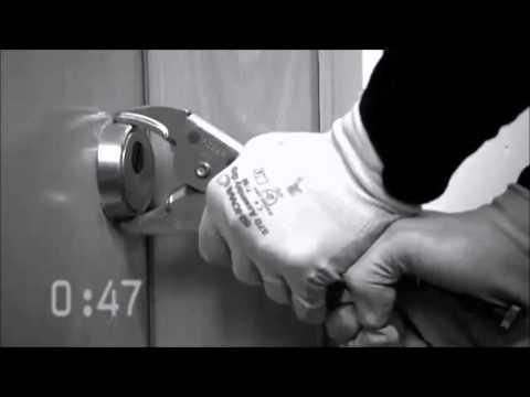 Cómo rompen los ladrones los escudos de seguridad de las cerraduras