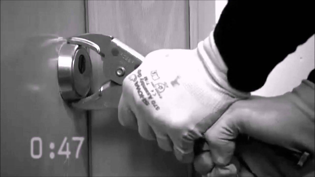 Como rompen los ladrones los escudos de seguridad de las - Cerraduras de seguridad ...