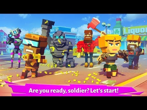 Pixel Arena Online: PvP Multiplayer Blocky Shooter - Android IOS Gameplay