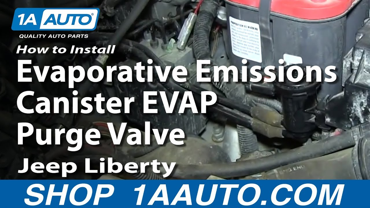 How To Install Replace Evaporative Emissions Canister EVAP