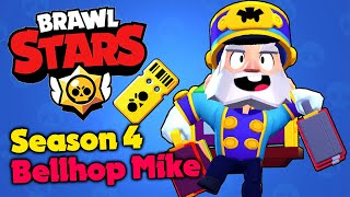 Brawl Stars - Season 4 & Bellhop Mike!! - Gameplay Walkthrough (iOS, Android)