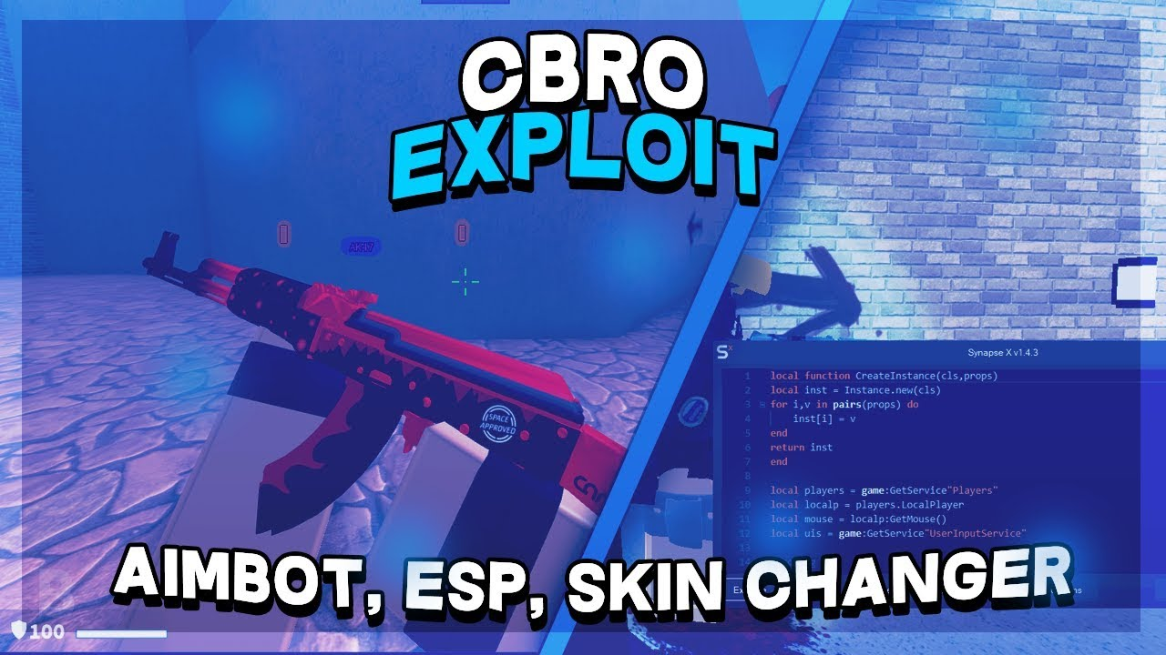 Roblox Counter Blox Aimbot New Counter Blox Hack Script Aimbot Esp Skin Changer More Working Youtube