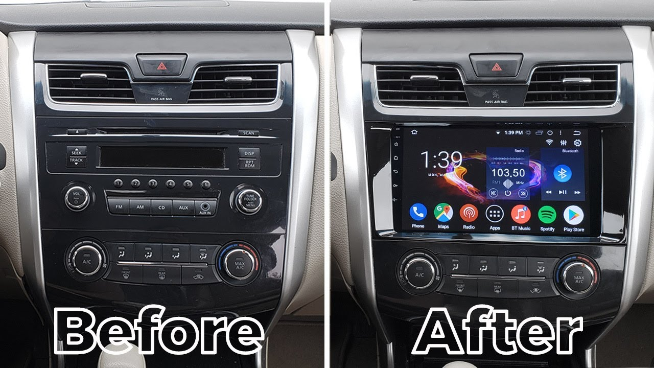 Nissan Altima 2013-2018 Android CarPlay 9'' Stereo by GTA ...