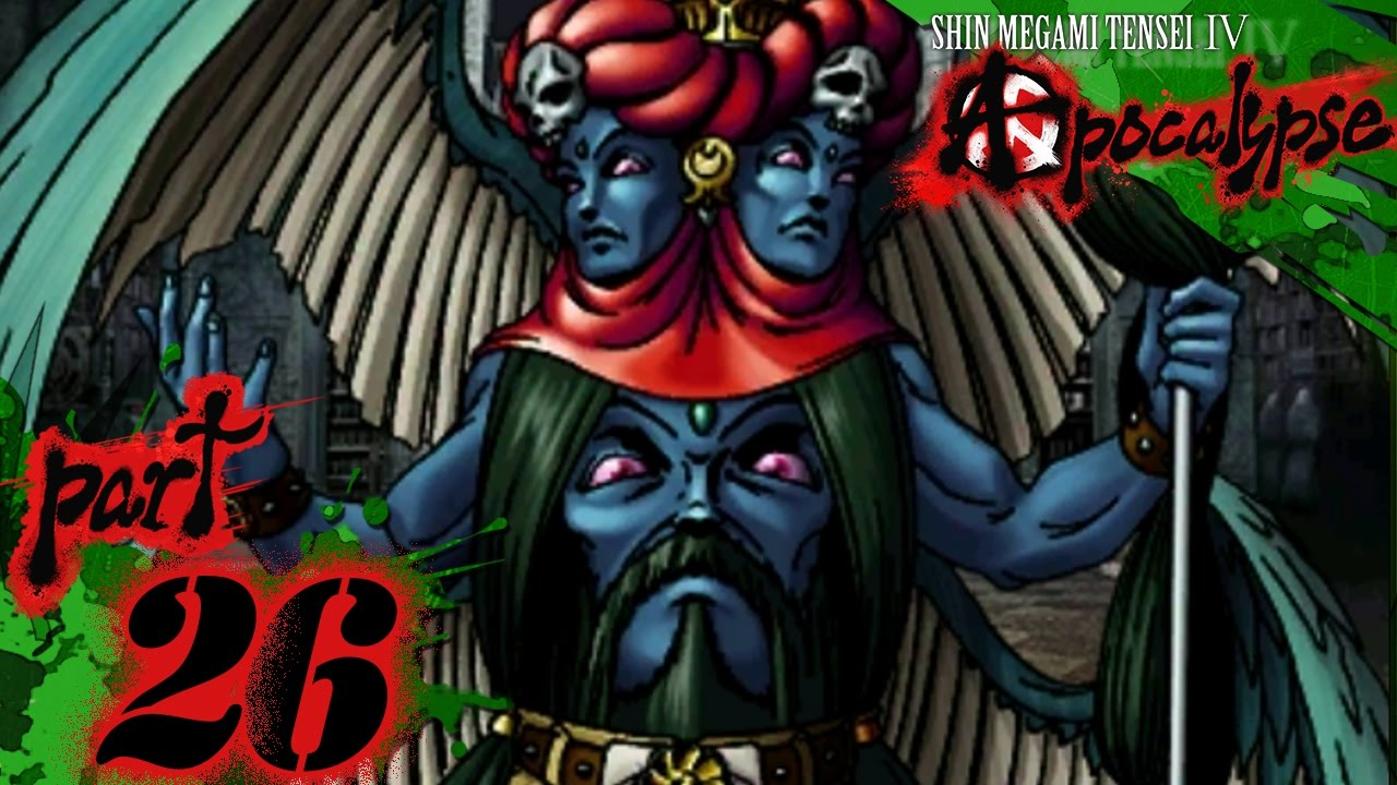 Shin Megami Tensei IV: Apocalypse - Part 26 - Azrael
