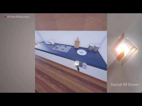 Navigation tutorial for SimLab VR viewer