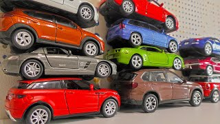 Cars on Top of Each Other  Driving on the Table - Toys for Boys