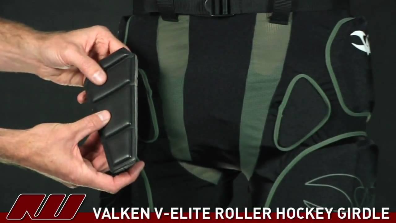 25dfab67ff1 Valken V-Elite Roller Hockey Girdle - YouTube