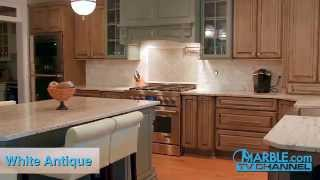 White Antique Granite Kitchen Countertops | Marble.com(, 2015-03-30T19:08:47.000Z)