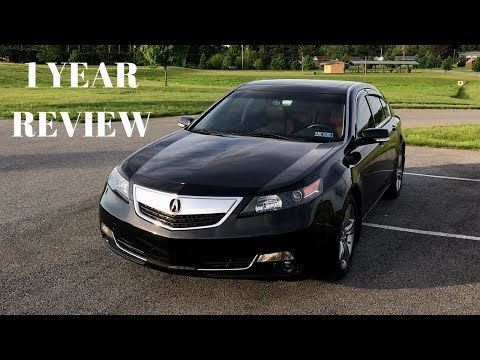 Acura TL SH-AWD - 1 Year Review and Tour