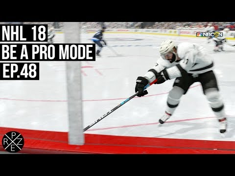 NHL 18 Be A Pro | Los Angeles Kings vs Winnipeg Jets Ep.48 (Xbox One X)