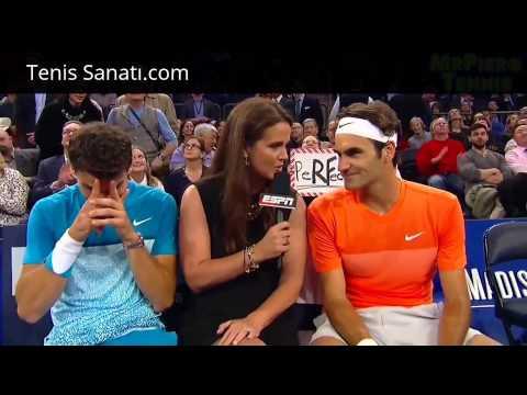 Tenis Sanatı - Roger Federer vs Grigor Dimitrov Tweener Maçı