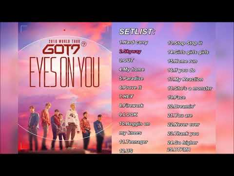[CONCERT SONG LIST] EYES ON YOU - GOT7