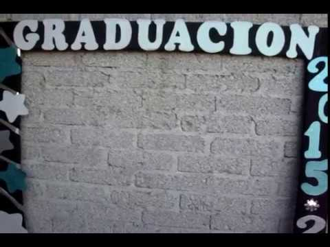 Fotos/Marcos Gigante Para Graduacion y Baby Shower - YouTube