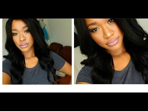 Quick 10 Minute Natural Glam On Dark Skin!