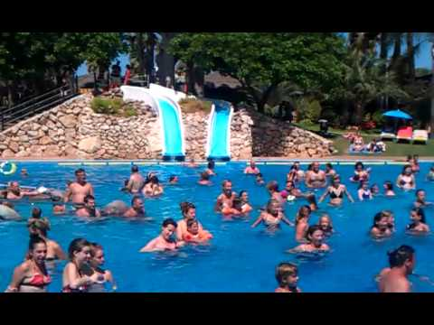 Pool dance cambrils park youtube for Pool dance show