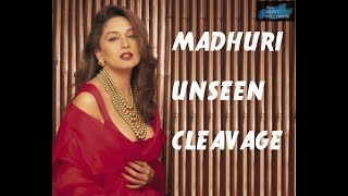 Madhuri Dixit Hot Video | Madhuri Dixit Shocking Cleavage - Private & Unseen