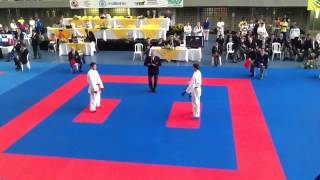 Jesus Costa Open 3rd Panamerican karate do tournament Medellin Colombia 2013