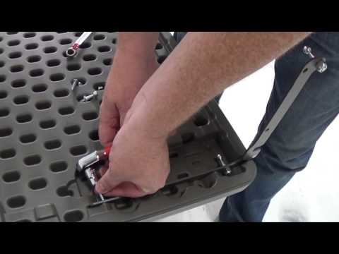 Large Deckbox   Lid Assembly