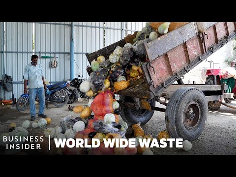 How Rotting Vegetables Make Electricity | World Wide Waste